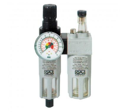 Фильтр-регулятор-лубрикатор FRL-200 GAV (3/8)