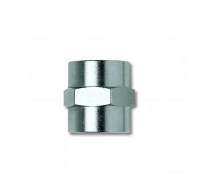 Переходник GAV 1225/3, F1/4*F1/4, цилиндрическая муфта