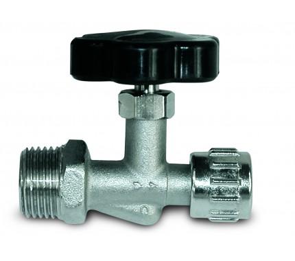Кран игольчатый GAV RBS/4, M1/2, выход байонетная гайка