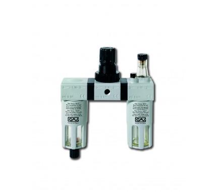 Фильтр-регулятор-лубрикатор G-FRL-200 GAV (3/8)
