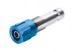 Штекер Festo KS2-CK-4 для пневморозетки (штуцер с накидной гайкой, d=4мм)