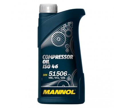 Масло для пневмоинструмента MANNOL Compressor Oil ISO 46 1 литр