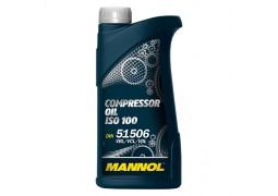 Масло для поршневых компрессоров MANNOL Compressor Oil ISO 100, 1 литр