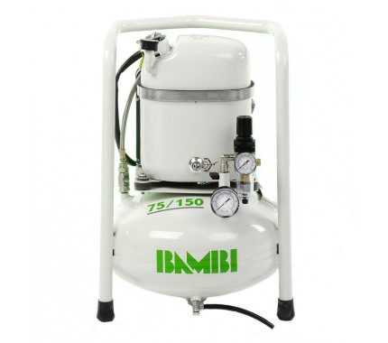 Компрессор бесшумный масляный Bambi MD75/150V