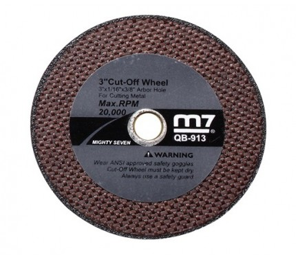 Диск отрезной Mighty Seven (M7) QB-913, 70 мм