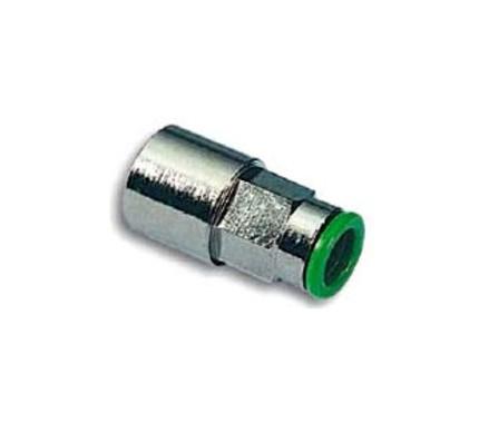 Фитинг цанговый прямой Pneumax 020618 с внутренней резьбой