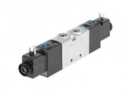 Пневмораспределитель Festo VUVS-L20-B52-D-G18-F7-5C1 (5/2, G1/8, 12VDC)