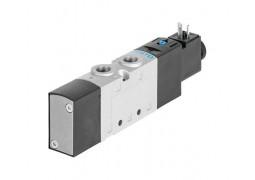 Пневмораспределитель Festo VUVS-L20-M52-AD-G18-F7-5C1 (5/2, G1/8, 12VDC)