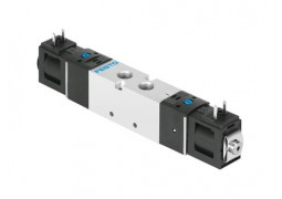 Пневмораспределитель Festo VUVS-LK20-B52-D-G18-1C1-S (5/2, G1/8, 24VDC)