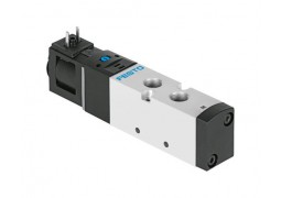 Пневмораспределитель Festo VUVS-LK20-M52-AD-G18-1C1-S (5/2, G1/8, 24VDC)