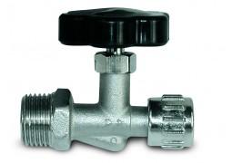 Кран игольчатый GAV RBS/2, M1/4, выход байонетная гайка