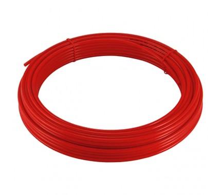 Трубка полиэтиленовая Pneumax PE 6x4 RED (бухта 100м)