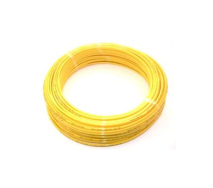 Трубка полиуретановая Pneumax TPU 4x2.5 YELLOW (бухта 100м)